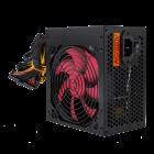 Блок живлення ATX-550W, 12см, 4xSATA, PCI Dх2 6 PIN 24 pin power supply BLACK без кабелю живлення - зображення 4