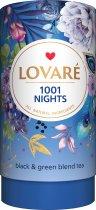 Бленд черного и зеленого чая с фруктами и лепестками цветов Lovare 1001 Ночь 80 г (4820097815563) - изображение 1