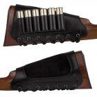 Шкіряний Патронташ на приклад Bronzedog 6 патронів калібр 12/16/20 Чорний (5090/1) - зображення 4