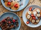 Сет смесей для выпечки панкейков: ваниль, корица, шоколад. Без сахара и без глютена, 845 г, Ginger and White - изображение 3