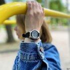 Женские электронные часы Casio Black наручные спортивные на полимеровом ремешке + коробка (1006-1827) - зображення 4