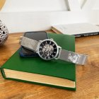 Часы наручные Forsining 1040 Silver-Black - изображение 3