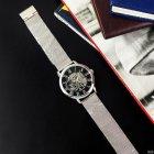 Часы наручные Forsining 1040 Silver-Black - изображение 8