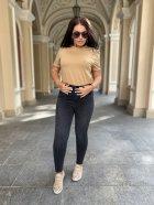 Джинсы женские американки джинс стрейч Miss Podium Черный 56 - изображение 1