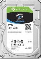 Жесткий диск Seagate SkyHawk HDD 8TB 7200rpm 256MB ST8000VX004 3.5 SATAIII - изображение 1