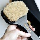 Масажна щітка антицелюлітна для сухого масажу з бука і щетини кабана від BlackTouch Dry Brush(1шт/уп) - зображення 7