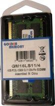 Оперативна пам'ять Golden Memory SODIMM DDR3L-1600 4096MB PC3L-12800 (GM16LS11/4) - зображення 1