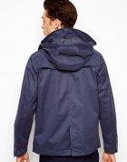 Куртка з капюшоном Pull & Bear AS456279 S (11385S) Синій - зображення 2