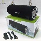 Портативная Колонка Hopestar H39 (Black) музыкальная Беспроводная с PowerBank и аккумулятором - акустическая блютуз система с басом FM micro SD - изображение 14