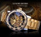 Механічний годинник Winner Diamonds (gold) - зображення 2