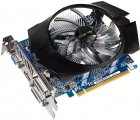 Видеокарта Gigabyte PCI-Ex GeForce GT 740 OC 2GB GDDR5, 128 бит, 1072/5000 МГц, VGA, 2хDVI, HDMI БУ - изображение 2