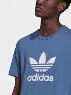 Футболка Adidas Trefoil T-Shirt GN3467 M Creblu/White (4064045945289) - изображение 4