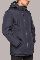 Зимняя куртка Miorichi КМ-7.3 58 Темно-синий (01101-blue58) - изображение 3