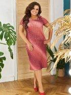 Платье ALDEM 1630 50 Коралловое (2000000441856_ELF) - изображение 2