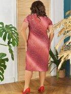 Платье ALDEM 1630 50 Коралловое (2000000441856_ELF) - изображение 3