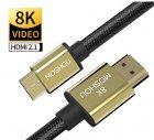 Кабель Moshou 8K Mini HDMI - HDMI 2 метра (hdmi to mini hdmi 2.1) - зображення 1