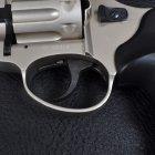"""Револьвер під патрон флобера PROFI (4.5"""", 4.0 мм), сатин-пластик - зображення 4"""