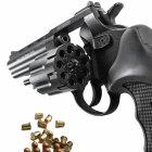 """Револьвер під патрон Флобера Stalker S (4.5"""", 4.0 mm), ворон-чорний - зображення 2"""