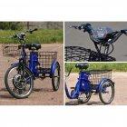 Електровелосипед (трицикл) Skybike 3-Cycle синій - зображення 6