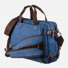 Мужская сумка Vintage leather-20153 Синяя - изображение 2