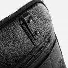 Мужская сумка кожаная Bond SHI1418-281 Черная (2900000132634) - изображение 5