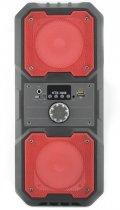 Портативная беспроводная Bluetooth колонка KTS 1048 аккумуляторная с пультом 10 Вт Красная - изображение 1