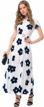 Платье GENEVIE 09619 M White Dark Blue (5902205174973) - изображение 1
