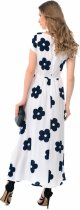 Платье GENEVIE 09619 M White Dark Blue (5902205174973) - изображение 3