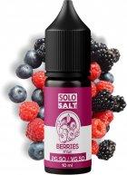 Рідина для POD-систем SoloSalt Berries 50 мг 10 мл (Малина + чорниця + лохина) (4820256390122) - зображення 1