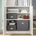 Коробка з кришкою IKEA TJOG 32x31x30 см темно-сірий 204.776.71 - зображення 5
