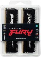 Оперативная память Kingston Fury DDR4-3200 131072MB PC4-25600 (Kit of 4x32768) Beast RGB Black (KF432C16BBAK4/128) - изображение 3