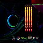Оперативная память Kingston Fury DDR4-3200 131072MB PC4-25600 (Kit of 4x32768) Beast RGB Black (KF432C16BBAK4/128) - изображение 5