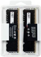 Оперативна пам'ять Kingston Fury DDR4-3733 32768 MB PC4-29864 (Kit of 2x16384) Beast RGB Black (KF437C19BB1AK2/32) - зображення 4