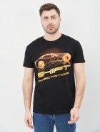 Футболка Sol's Imperial 190 Glowing Car 11500309/98 XXL Черная (3609374908560) - изображение 1