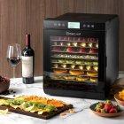 Сушилка для овощей и фруктов WetAir WFD-K700BSS с металлическими лотками - изображение 8