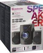 Акустическая система Defender X420 Bluetooth Black (65525) - изображение 2