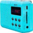 Портативний радіоприймач ECG R 155 U Блакитний - изображение 2