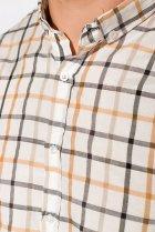 Рубашка Time of Style 511F047 XXXL Серо-бежевый - изображение 5