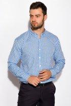 Рубашка Time of Style 511F037 S Бело-голубой - изображение 3