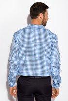 Рубашка Time of Style 511F037 XS Бело-голубой - изображение 4