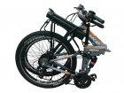 """Електровелосипед складаний МАЦІ 36V 12Ah 500W 26"""" / рама 17"""" сіро-помаранчевий - зображення 2"""