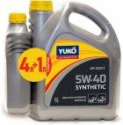 Моторна олива Yuko Synthetic 5W-40 4 л + 1 л (4820070241167_stock) - зображення 1