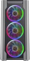 Корпус 1STPLAYER DX-R1-PLUS Color LED Black - зображення 2