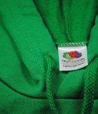 Худі чоловіча легка Fruit of the Loom XXL Яскраво-Зелений (D0621400472XL) - зображення 3