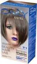 Гель-краска для волос Estel Only 7.1 Русый пепельный (4606453047836) - изображение 1