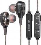 Наушники Defender FreeMotion B640 2 динамика Bluetooth Black (63641) - изображение 2