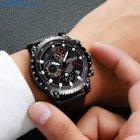 Мужские наручные часы CRRJU 2158 Black-Red - изображение 4