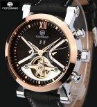 Механические часы с автоподзаводом Forsining (black-bronze) - изображение 4