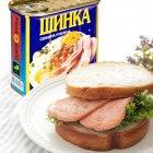 Ветчина PowerBANKa свиная рубленая 340 г (4820184610897) - изображение 3