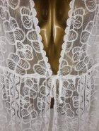 Пляжный халат с гипюром Z. Five 9432 L белый - изображение 2